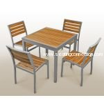 Florida Seating Teak Inlay Tables